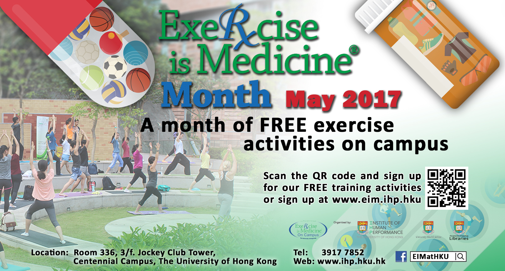 Exercise is Medicine on Campus Month - University of Hong Kong